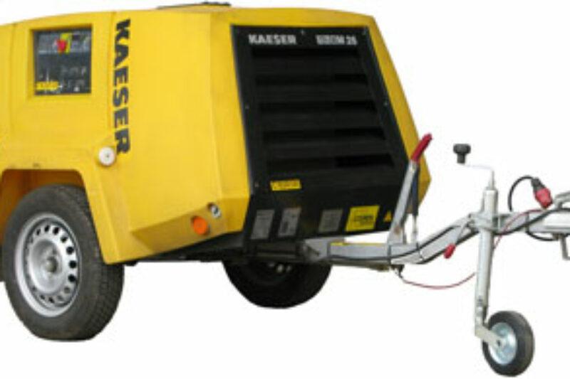 Diesel compressor 2.1  m³/min