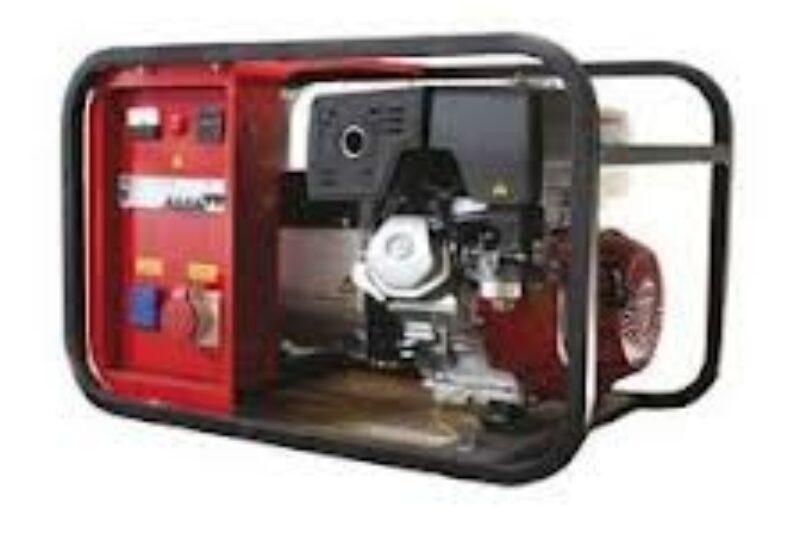 Stroomaggregaat Benzine 7 KVA