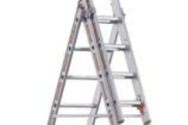 Schuif ladder 3 x 8