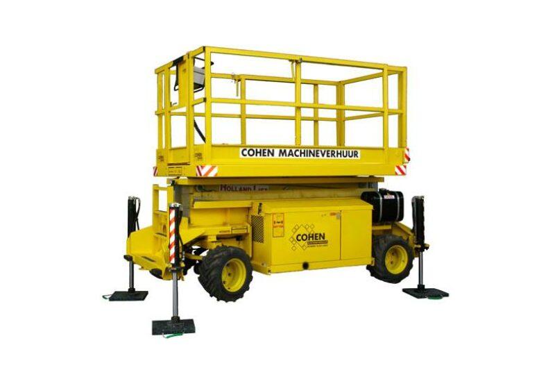 Schaarhoogwerker diesel 10.3 mtr